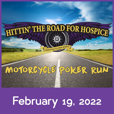 Hittin The Road for Hospice Motorcycle Poker Run Fundraiser